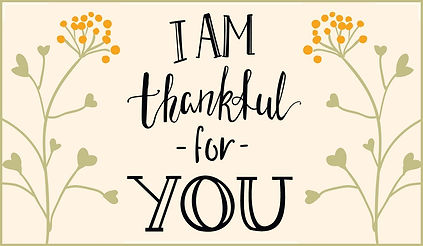 Thankful Table sponsored by the Christian Social Work Fellowship