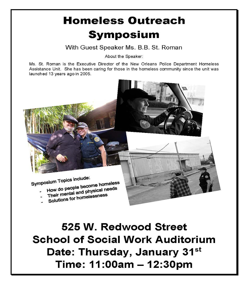 homeless symposium
