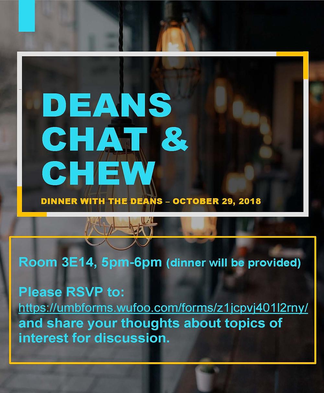 deans chat