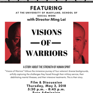 "Movie Premiere: ""Visions of Warriors"" with Director Ming Lai"