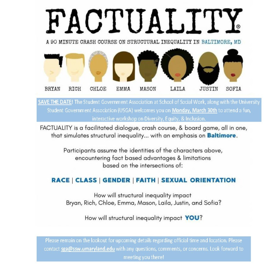 factuality poster