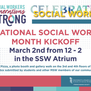 National Social Work Month Kickoff @ the SSW