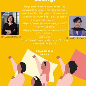 SGAC & ISWO's Menstrual Justice Event