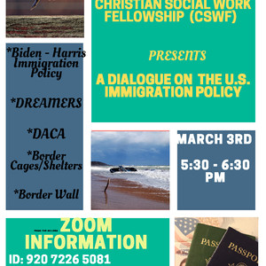 Christian Social Work Fellowship U.S. Immigration Policy Dialogue March 3