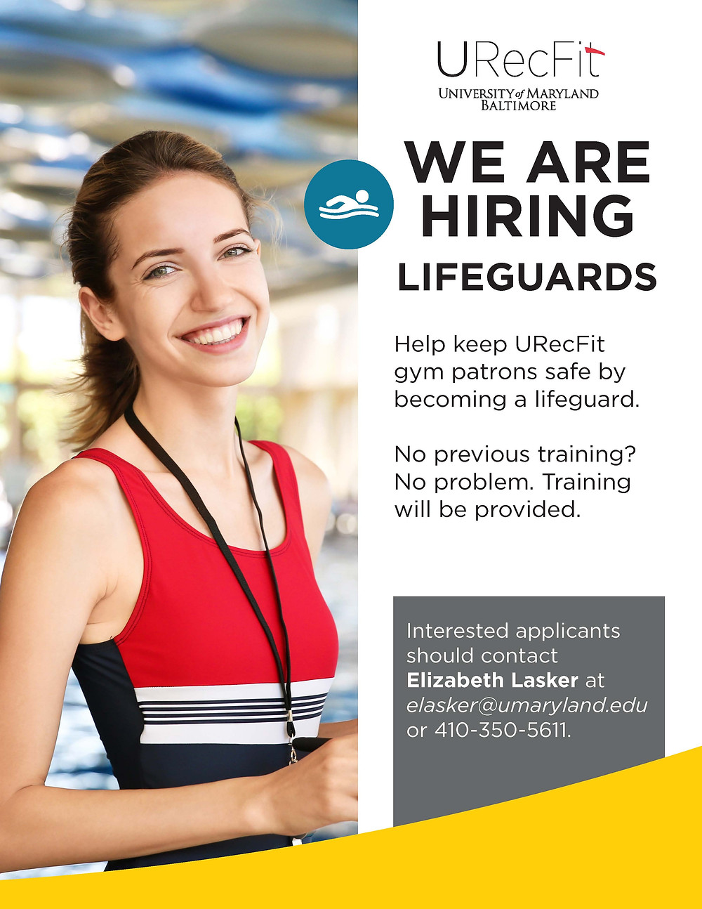 urecfit lifeguards needed