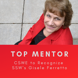 Ferretto to be Recognized by CSWE for her Mentorship