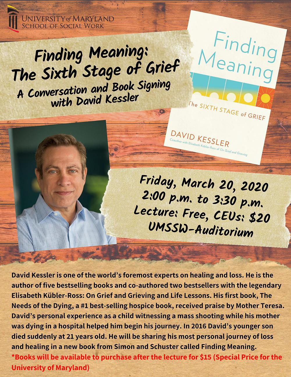 Kessler event poster