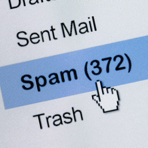 Not Getting Advising Emails? Check Your Spam Folder!