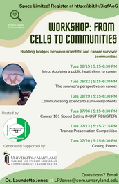 Workshop: From Cells to Communities