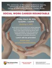 USG: Social Work Career Roundtable March 29