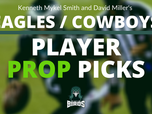 Eagles @ Cowboys Play Prop Bets