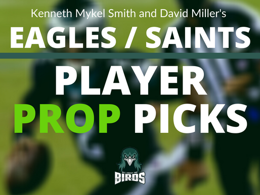 Eagles vs Saints Player Prop Bets