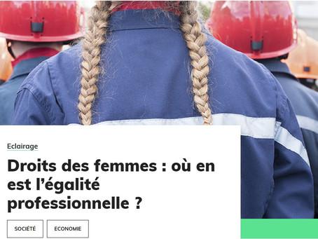 Egalité professionnelle ?