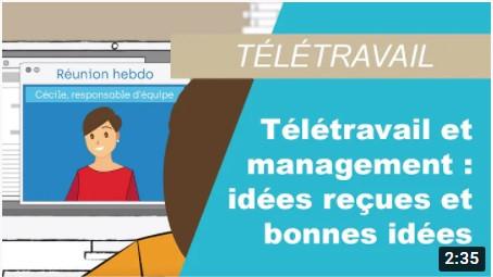 Télétravail et management : idées reçues et bonnes idées