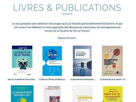 Sélection de livres et publications en lien avec la Qualité de Vie au travail
