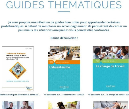 Guides thématiques Qualité de Vie au Travail