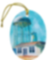 Lincoln County Revised Proof Ornament fr