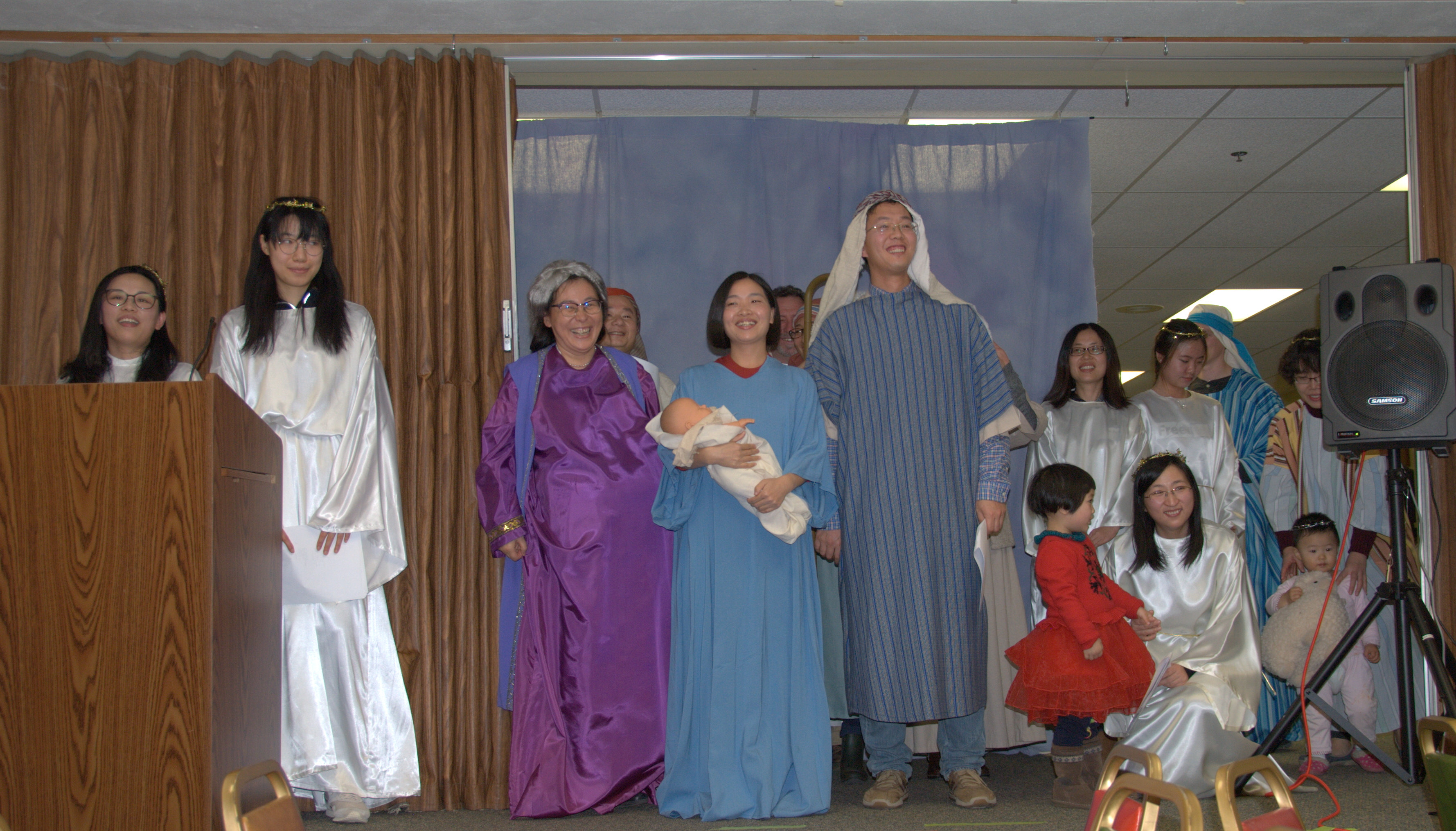 2017 nativity play