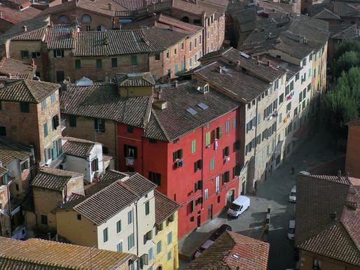 Siena - Сиена вид с Torre del Mangia
