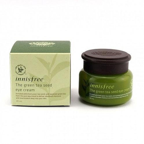 Увлажняющий крем для век Innisfree The Green Tea Seed Eye Cream,30мл