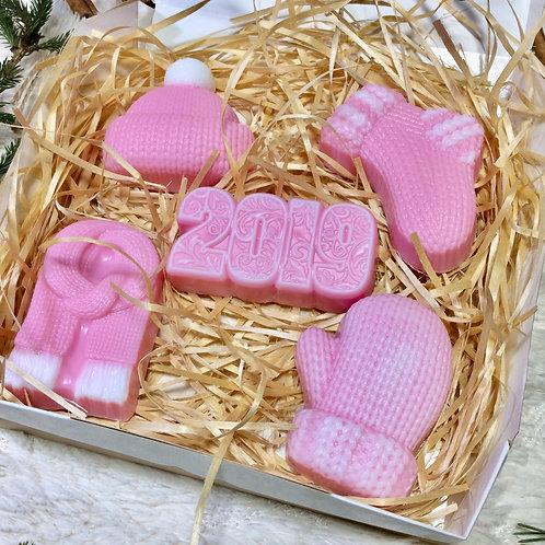Новогодний набор мыла купить в москве
