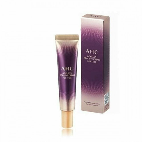 Крем для лица и кожи глаз AHC Ageless Real Eye Cream For Face