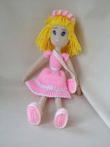 """Вязанная кукла """"Ангелина"""""""