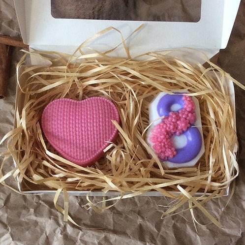 Подарочный набор мыла на 8 марта
