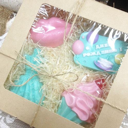 Подарочный набор мыла на день рождения москва