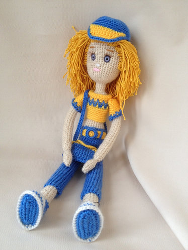 "Вязанная кукла ""Кэтрин"""