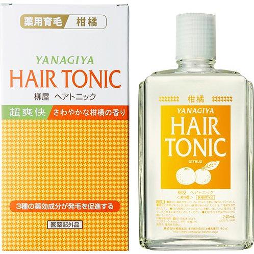 Лечебный тоник для роста волос экстрактом цитрусов Hair Tonic Yanagiya,240мл