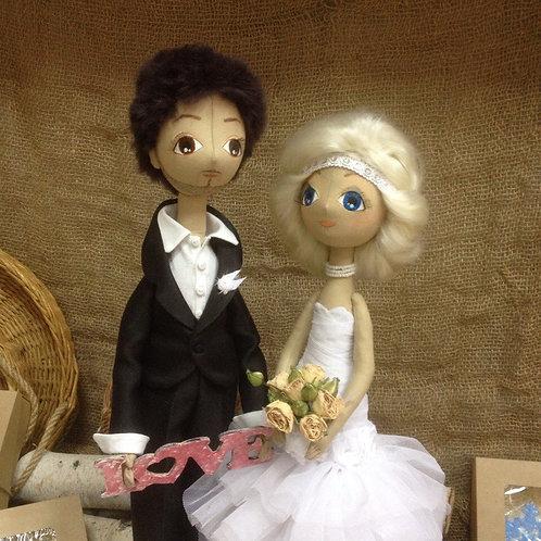 Свадебные куклы на заказ