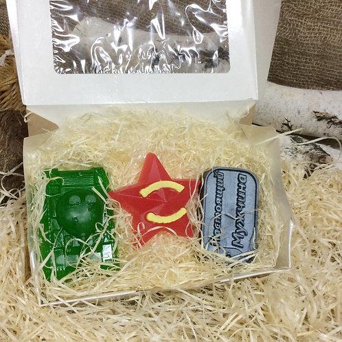 """Подарочный набор мыла """"Патриот мини"""""""