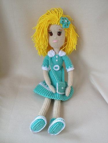 """Вязанная кукла """"Стелла"""""""