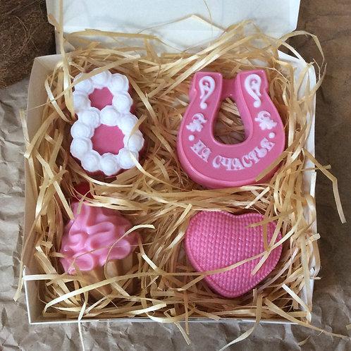 Подарочный набор мыла на 8 марта купить в москве