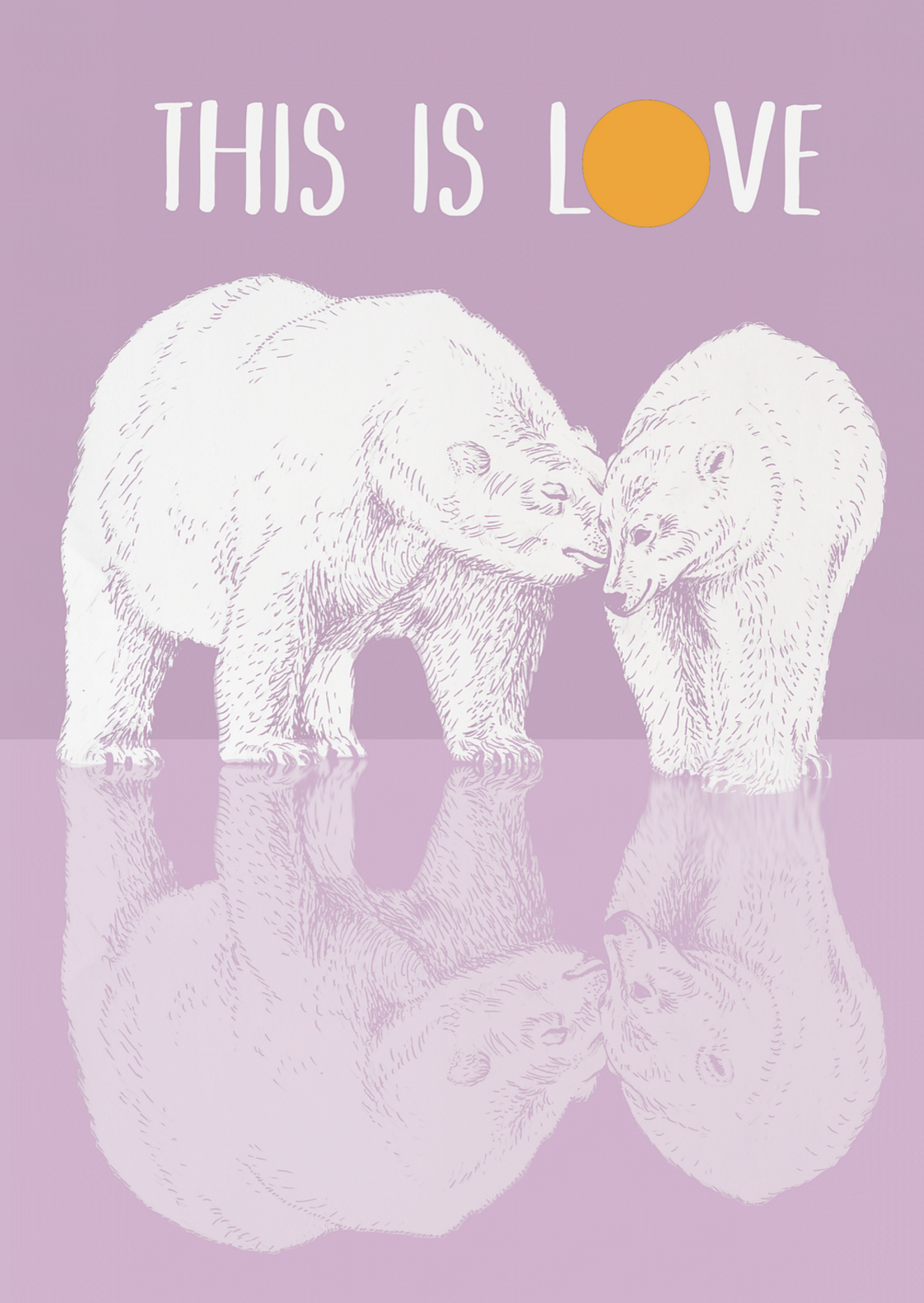 Polar bears, Love is teh answer