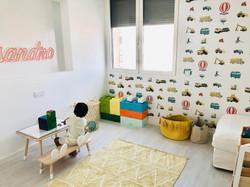 Wall paper design for children