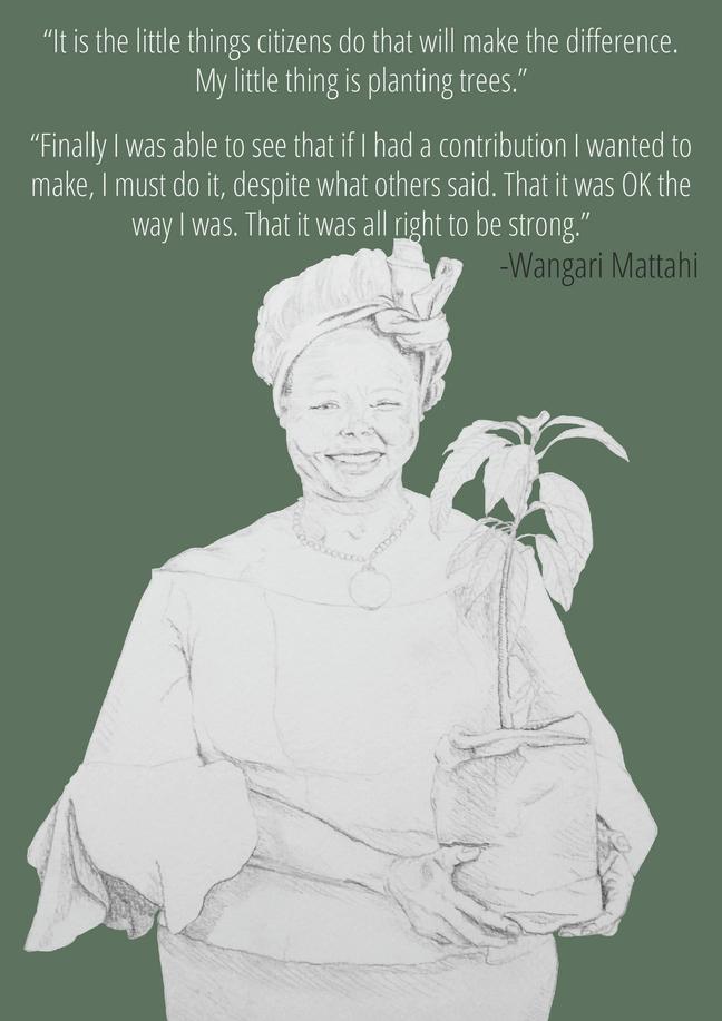 First African Nobel prize winner