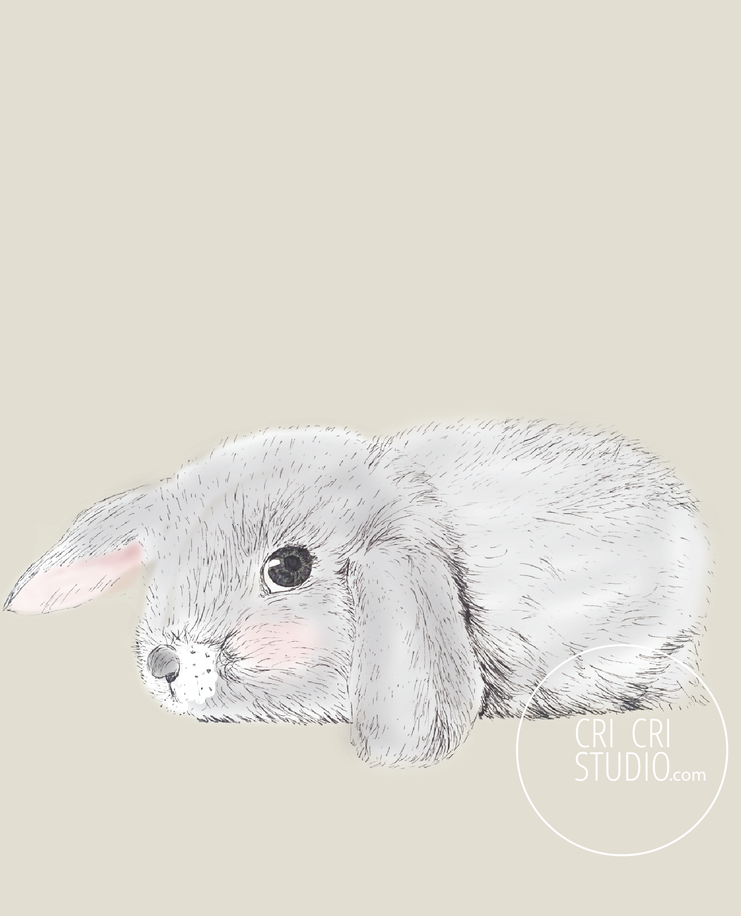 Bunny by Cri Cri Studio