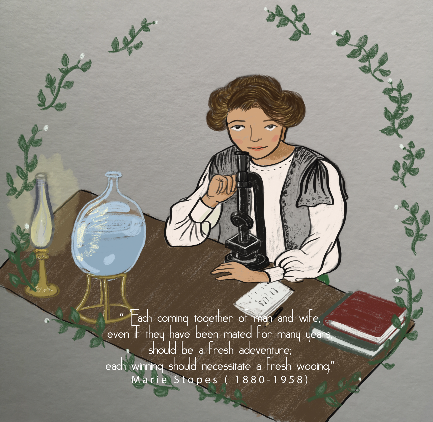 Scientist Marie Stopes
