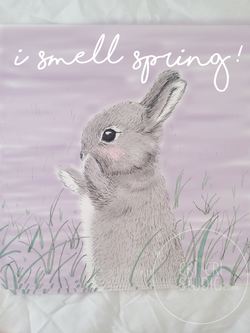 Rabbit illustration by Cri Cri Studio