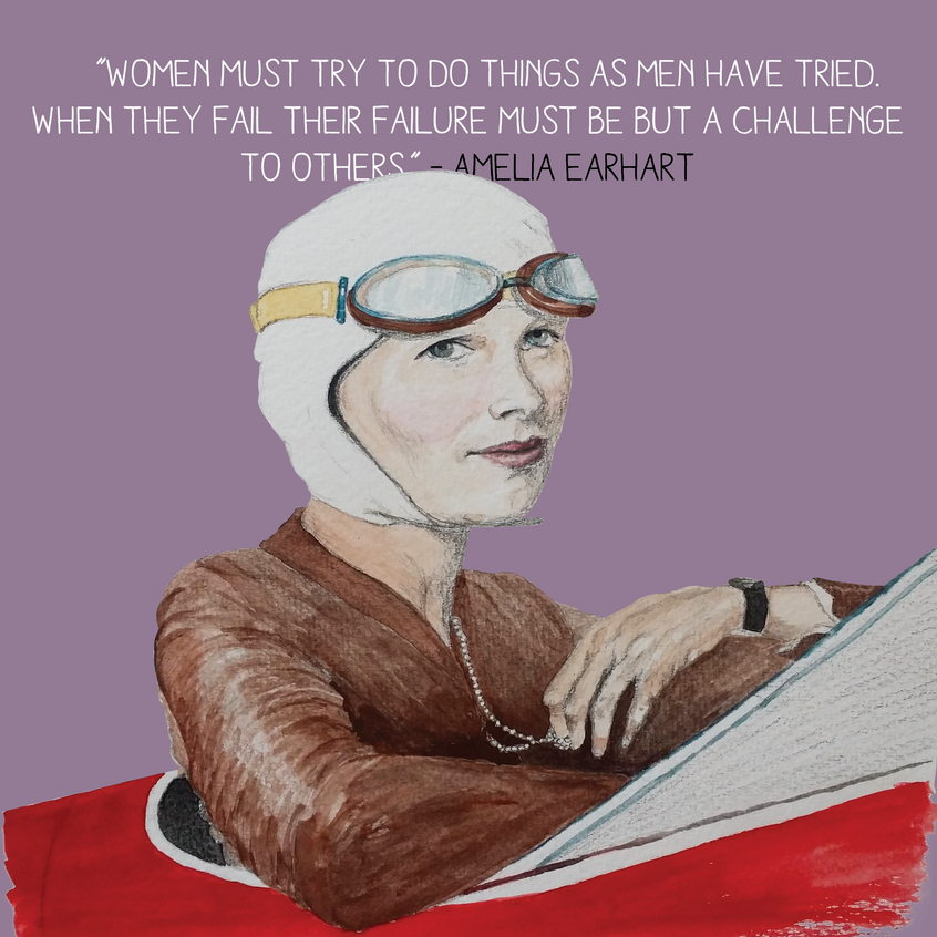 ColourDetail Amelia Earthart