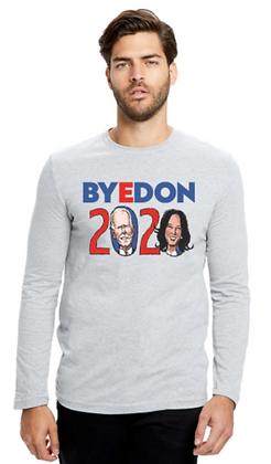 ByeDon 2020 LongSleeve Gray Shirt