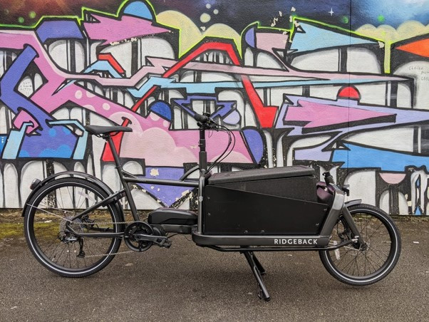 Freight delivery by bicycles