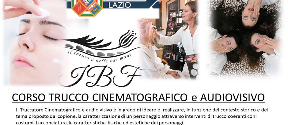 INIZIO Corso Trucco Cinematografico e Audiovisivo