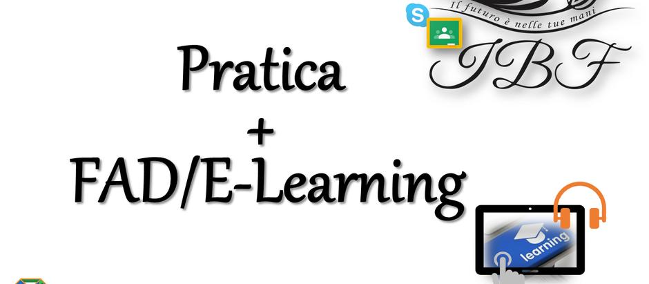 NUOVI CORSI con Teoria in FAD/E-Learning e Pratica in sede