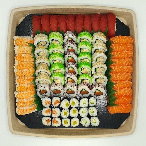 Sushi Partyschotel XL 80 stuks