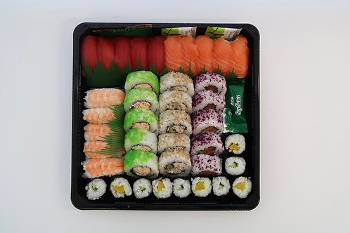 Moriawase Sushi Schaal 40 stuks