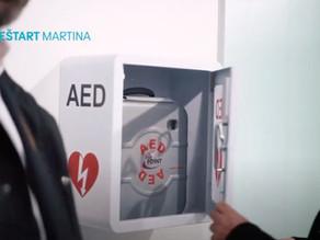 Kúpili sme defibrilátor do centra Martina
