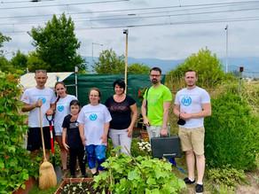 Pomohli sme poškodeným záhradkárkam